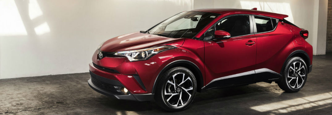 2018 Toyota C-HR Engine and Handling Technology