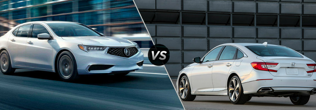 Which 2018 Acura is comparable to a Honda Accord