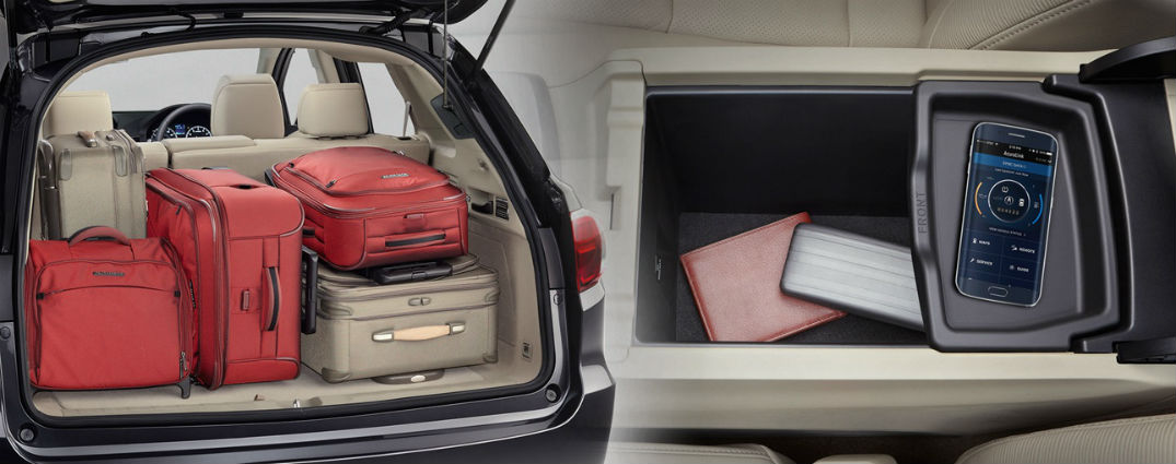 2017 acura rdx cargo capacity storage options. Black Bedroom Furniture Sets. Home Design Ideas