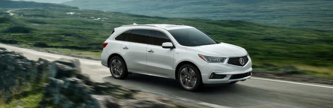 2017 Acura MDX Sport Hybrid Engine Specs and Performance