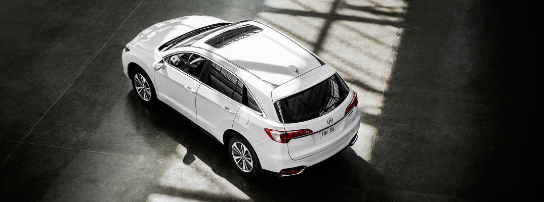 What are the 2017 Acura RDX Paint Color Options?