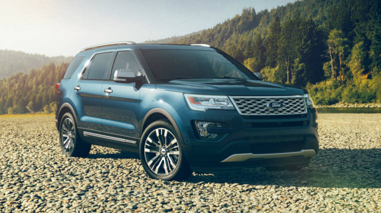 Blue Jean Ford Explorer >> What colors does the 2017 Ford Explorer come in?