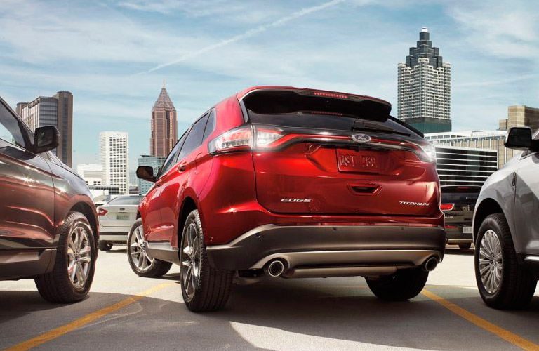 2017 ford edge cargo volume and specifications. Black Bedroom Furniture Sets. Home Design Ideas