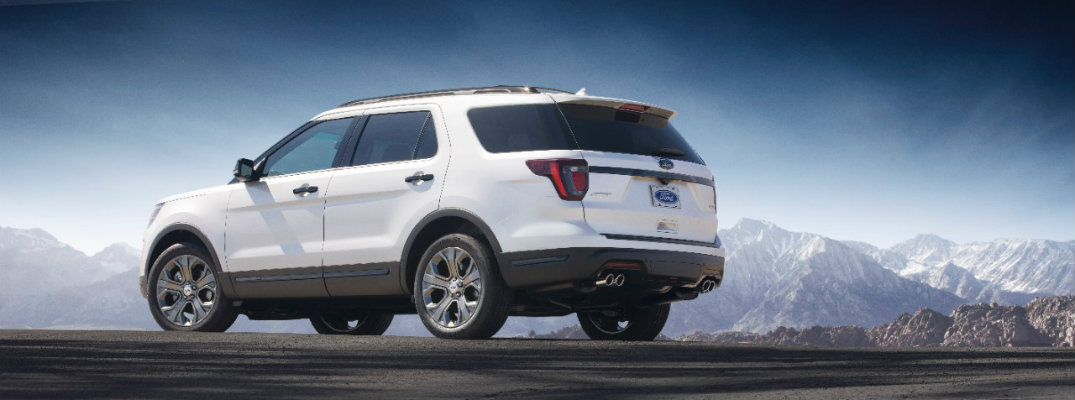 2018 Ford Explorer new tech updates and specs