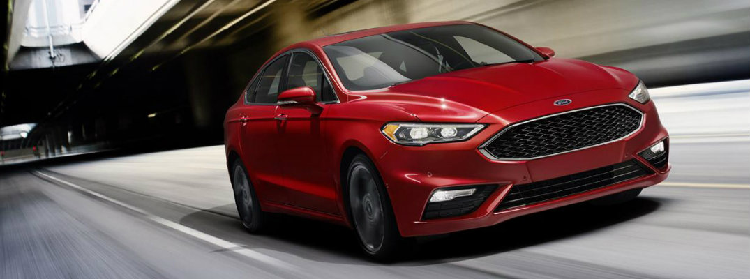 2017 Ford Fusion safety rating and available driver assistance features