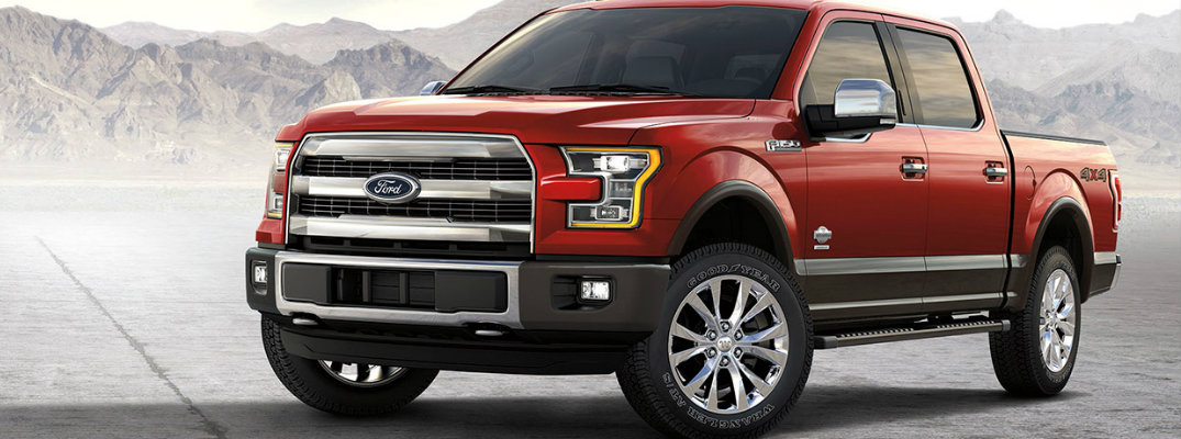 2017 Ford F-150 available color options