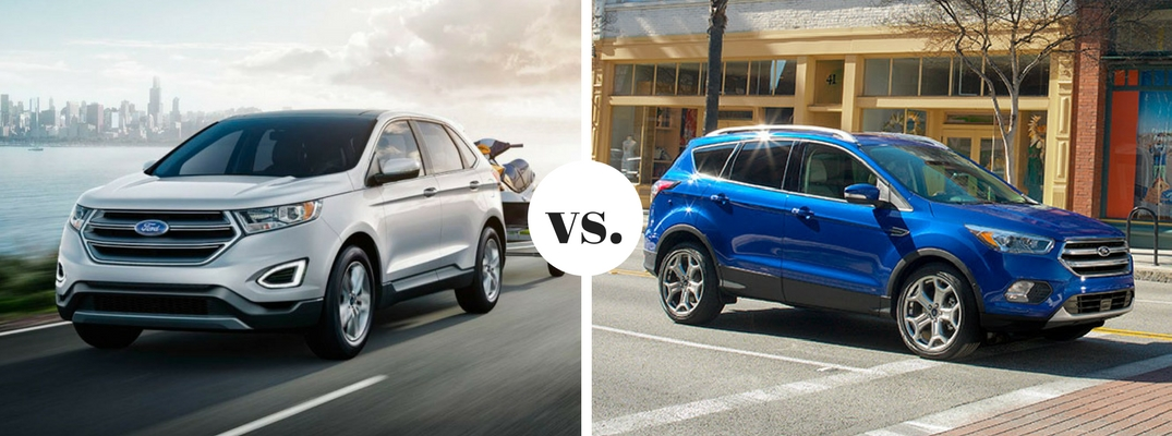 2017 Ford Edge vs 2017 Ford Escape