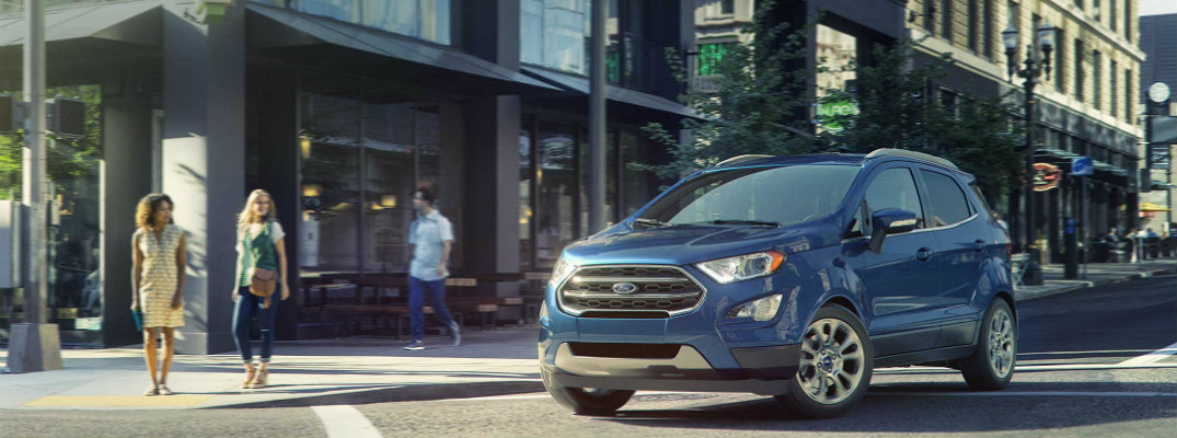2018 Ford EcoSport release date and new features