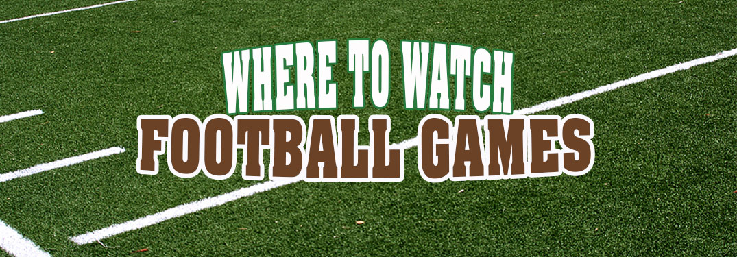 Best places to watch football in Carbon County PA