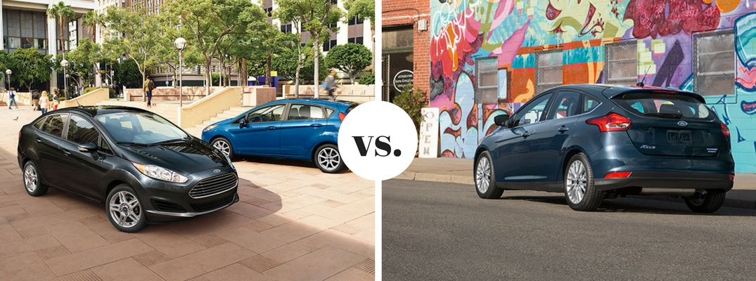2017 Ford Fiesta vs 2017 Ford Focus