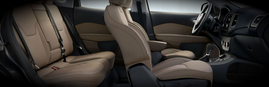 2017 Jeep Compass Interior Seating Trim Colors and Materials
