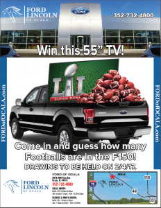 Come in to guess the balls in the bed before the big game for your change to win!
