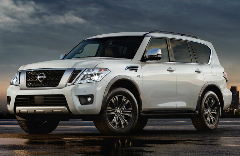 how many seats does the 2017 nissan armada have. Black Bedroom Furniture Sets. Home Design Ideas