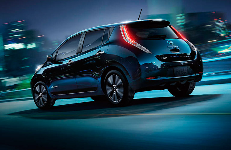 how far can you get on one charge of the nissan leaf. Black Bedroom Furniture Sets. Home Design Ideas