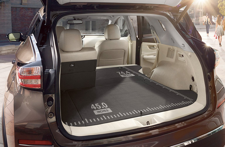 How Much Cargo Space Does The 2017 Nissan Murano Have