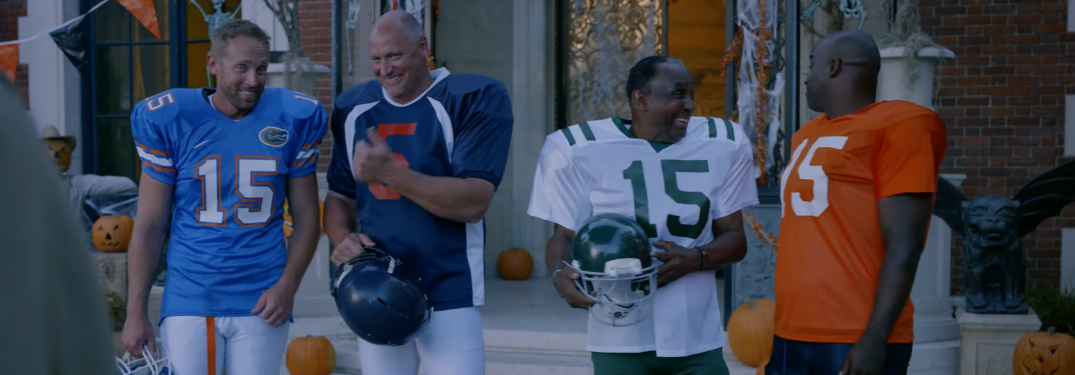 screenshot of Nissan Heisman House Teboween commercial