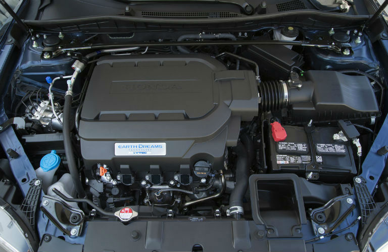 Honda Accord 2.4-liter four-cylinder engine