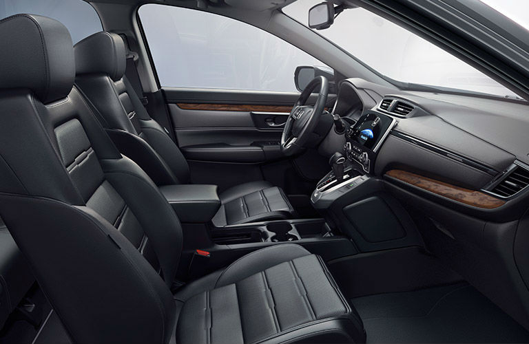 2017 Honda CR-V interior comfort options