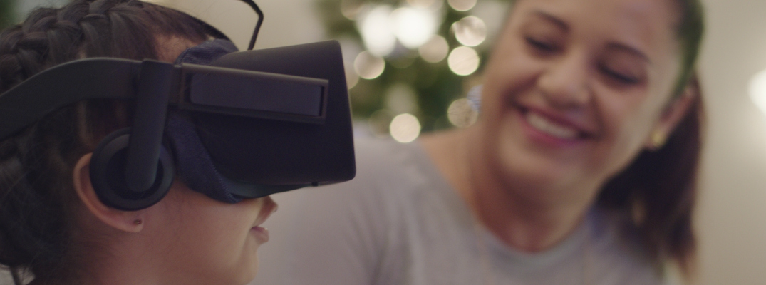Honda Helps Children's Hospital with Holiday Virtual Reality Experience