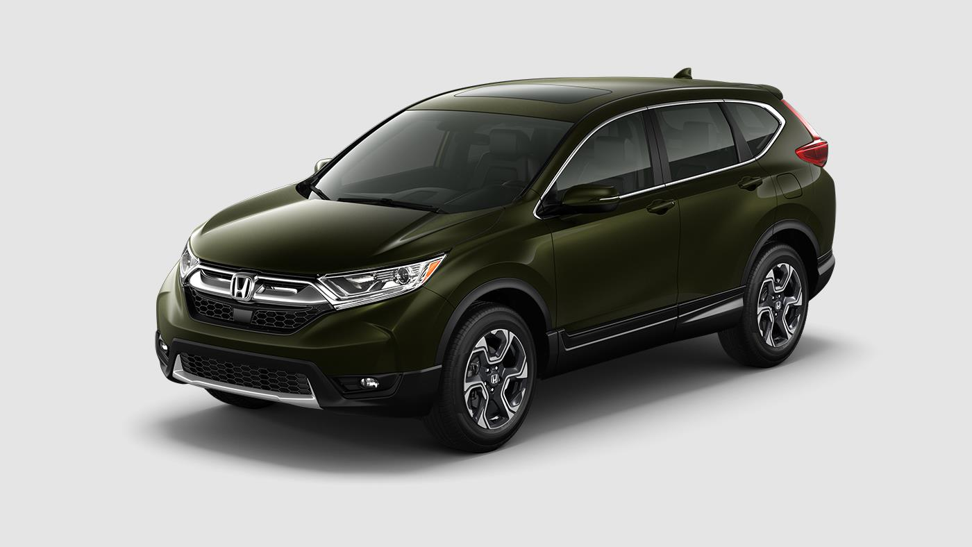 Dark Olive Metallic CR-V