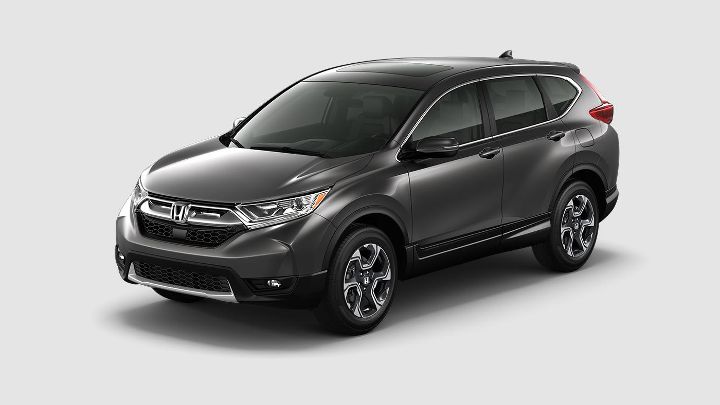What Colors is the 2017 Honda CR-V Available In?