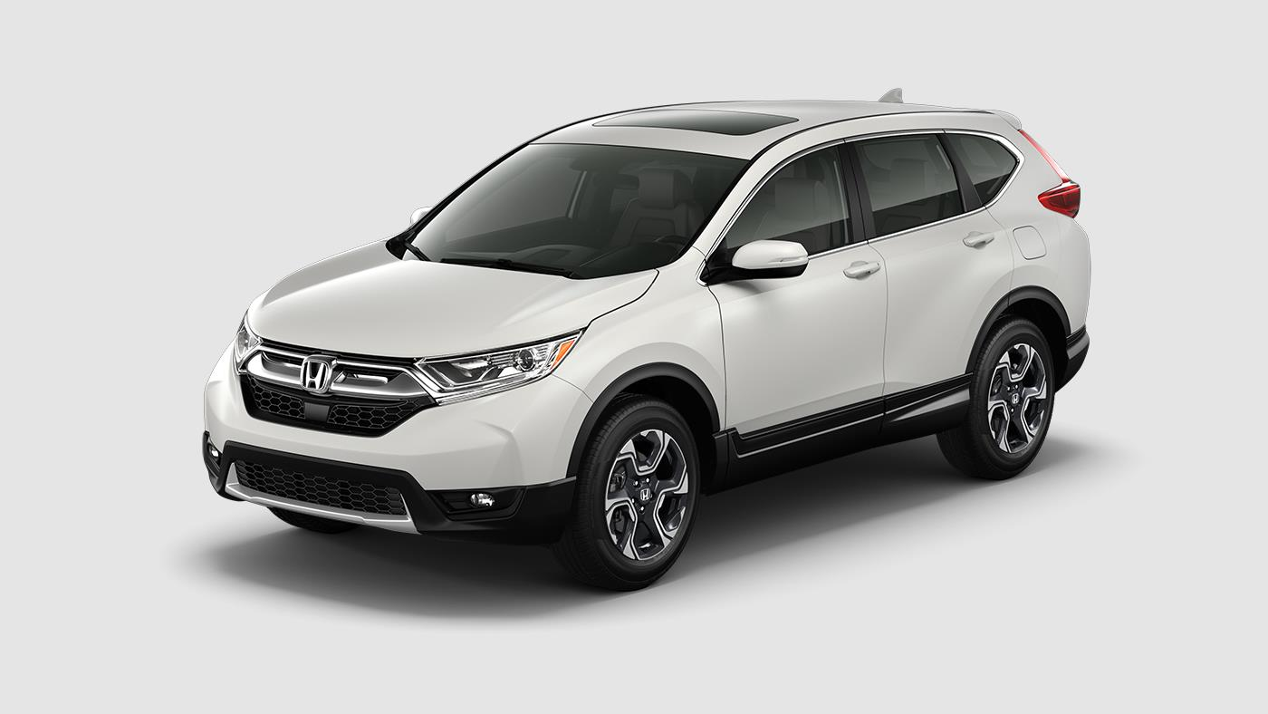 White Diamond Pearl CR-V