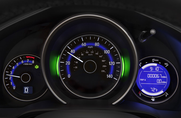 2017 Honda Fit ECO indicator