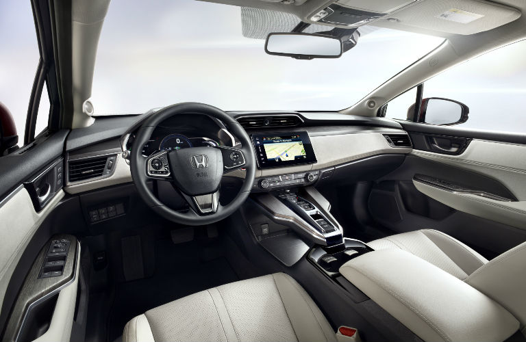 Honda Clarity Fuel Cell cabin space