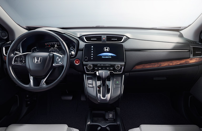 2017 Honda CR-V dashboard