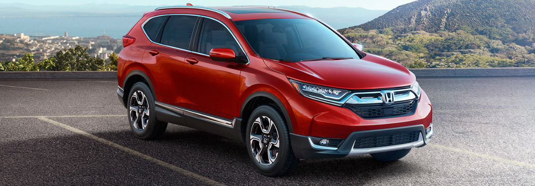 What engine options are available on the CR-V?