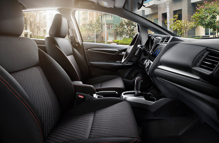 2018 Honda Fit passenger space