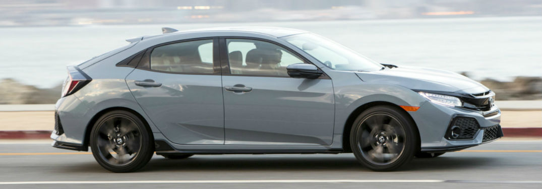 What kind of technology is in the Honda Civic Hatchback?