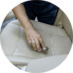 how to clean grease stains from car upholstery