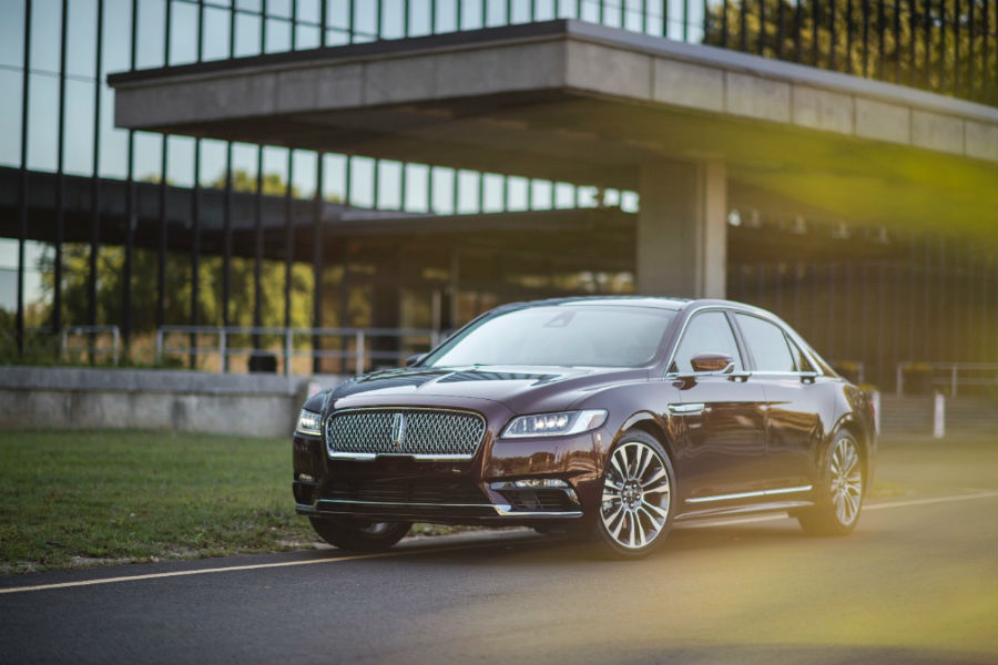 A strong athletic stance is the new look of the 2017 Continental at OC Welch