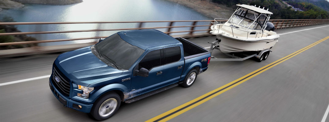 2017 Ford F-150 4x4 modes