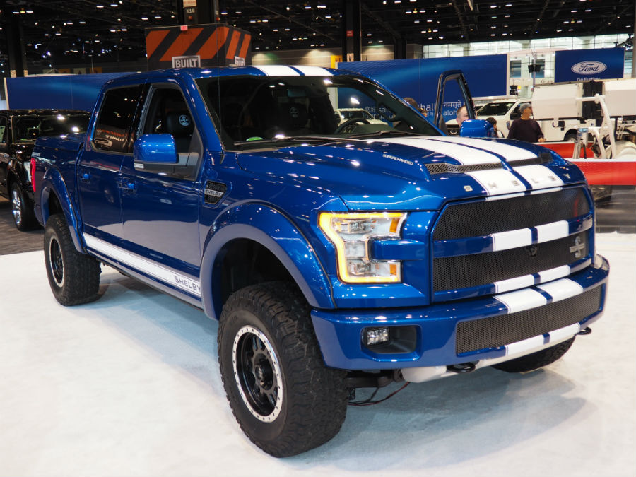 new chicago auto show f 150 photos shelby version included. Black Bedroom Furniture Sets. Home Design Ideas