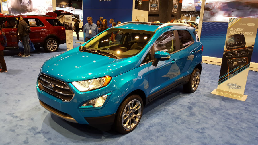 2018 Ford EcoSport about year away from being available