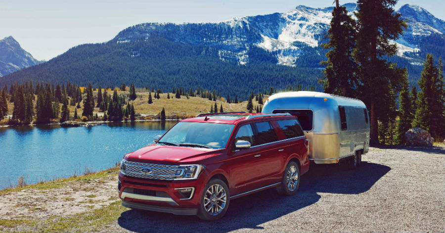 2018 Expedition offers outstanding towing capacity
