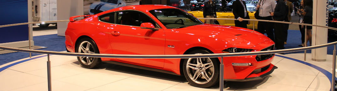 2018 Ford Mustang Chicago Auto Show 2017