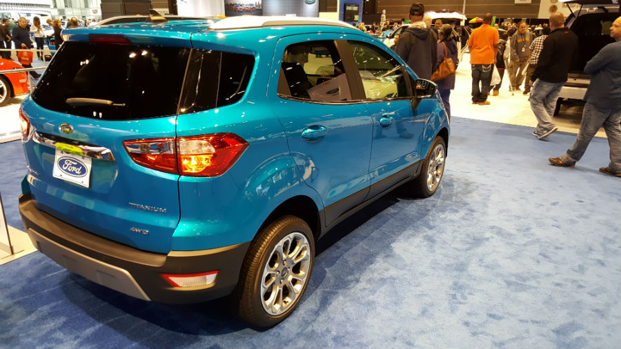 Interior of 2018 EcoSport will be very convenient to use