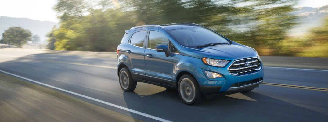 Release date for the 2018 Ford EcoSport