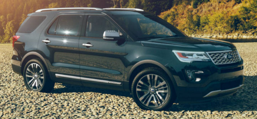 2017 Ford Explorer Absolute Black