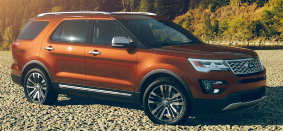 Which Colors Are Available For The 2017 Ford Explorer O
