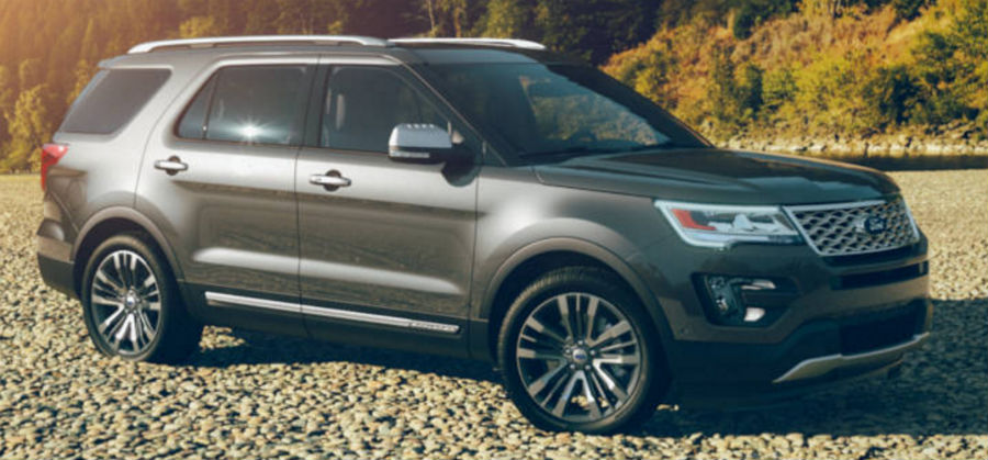 2017 Ford Explorer Magnetic Metallic