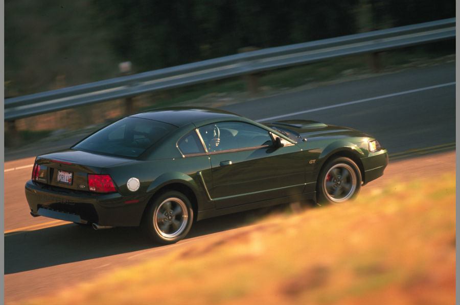 2001 Ford Mustang Bullitt recreation