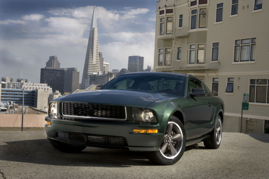 2008 Bullitt Mustang Ford recreation