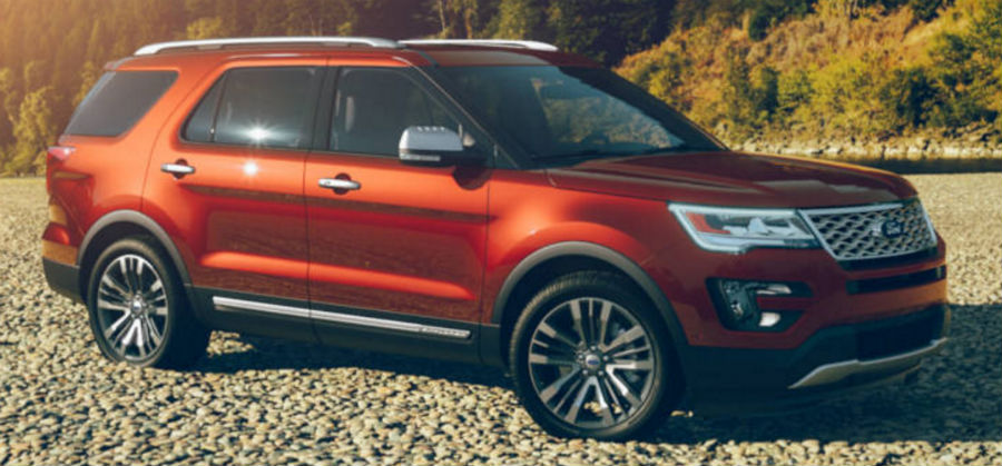 2017 Ford Explorer Ruby Red