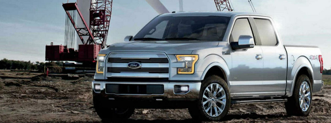 2017 Ford F-150 Silver Exterior - List of 2017 Ford F-150 Exterior Paint Color Options