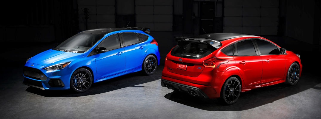 Red and Blue Models of 2018 Limited Edition Ford Focus RS - Release Date and Specs