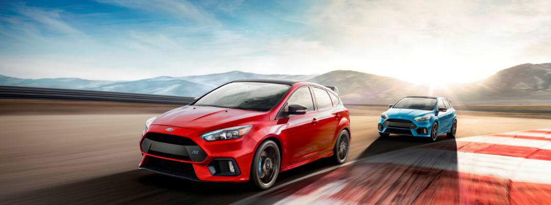 2018 Limited Edition Ford Focus RS models on race track - Release Date and Specs